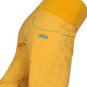Ocun Noya Pants Damen yellow/blue